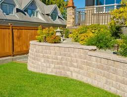 Front Yard Retaining Walls Landscaping Ideas - retaining and landscape wall pictures gallery landscaping network