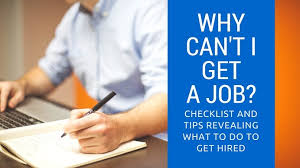 Can You Get A Job Without A Resume by Why Can U0027t I Find A Job 16 Common Reasons U2022 Career Sidekick