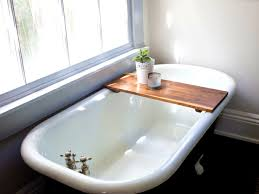 accessories winsome wooden bathtub food and reading tray wine