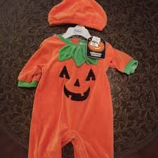 Baby Pumpkin Costume 59 Off The Children U0027s Place Other Baby Pumpkin Costume From