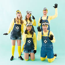 minion costumes make minion costumes for your squad this brit co