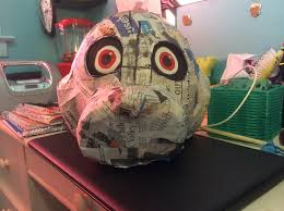 paper mache bunnies fnaf bonnie the bunny paper mache mask by blueflamecatwolf on