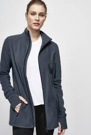 funnel neck microfleece jacket long tall sally