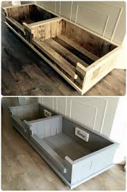 bed frames diy pallet bed frame instructions how to make a