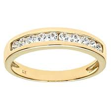 gold eternity ring citerna 9 ct yellow gold eternity ring with channel set cubic