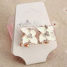 earring necklace jewelry display images 50pcs packaging plastic earring necklace jewelry display hang jpg
