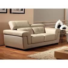 la maison du canape canapé cuir 2 places evasion la maison du canapé pas cher à prix