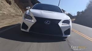 lexus rc f headlights 2015 lexus rc f review fast lane daily youtube