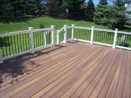 best outside decks images about deck ideas on spiral