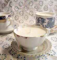 tea cup candles diy project kate s teacup candles design sponge