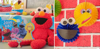 sesame birthday sesame birthday party decorations supplies and ideas