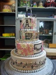 edible prints 4 tier chocolate wedding cake iced in ecru white ch flickr