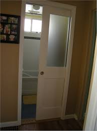 glass door in bathroom glass pocket doors bathroom