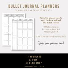 printable bullet journal planner bullet journal inspiration banners and dividers bullet planners