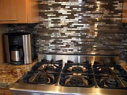 stainless steel kitchen backsplash new great home decor