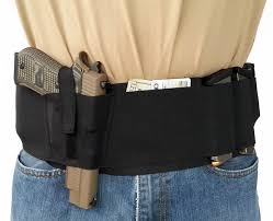 belly band heat 5 elastic belly band gun holster blackg miss