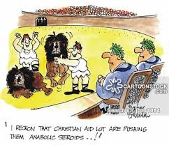 christians and lions and comics pictures from
