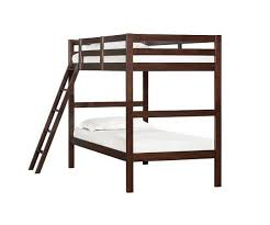 Mission Hills Twin Over Twin Bunk Bed - Simmons bunk bed mattress
