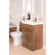 Victorian Vanity Units For Bathroom by Feel Curved Bathroom Suite With Rh Walnut Combi Vanity Unit