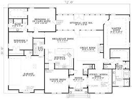 one story house plan crafty one story house plans with two master bedrooms inspiration