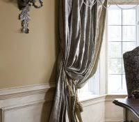 Modern Curtains Designs Modern Curtain Styles Puddled Drapes With Twine Valance By Alex