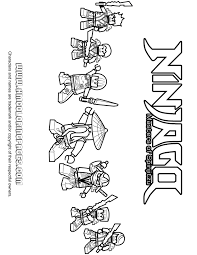 all ninjago ninjas with sensei wu and nya coloring page h u0026 m
