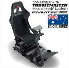 Racing Simulator Chair Black Trak Racer Fs9 Simulator Wheel Fold Cockpit Racing Seat