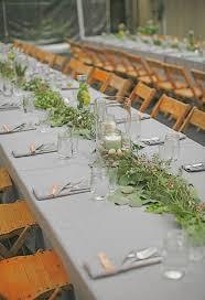 wedding garland table decorations wedding ideas weddingchicks