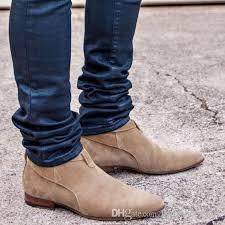 s boots ankle s fashion brown jodhpur dress shoes brand design pointed toe