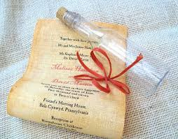 message in a bottle wedding invitations message in a bottle wedding invitation sample 2266605 weddbook