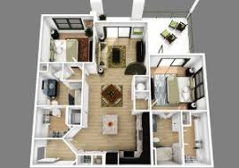 3 bedroom and 2 bathroom house plans 3d 3d designs of 3 bedroom 2