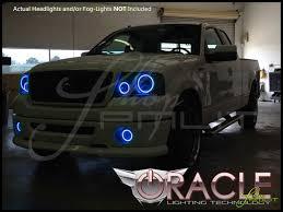 Automotive Led Lights Bulbs by Oracle 06 08 Ford F150 Led Halo Rings Head Fog Lights Bulbs