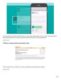 free email signature template eliolera com