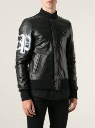 Boys Leather Bomber Jacket Philipp Plein U0027bad Boy U0027 Bomber Jacket Farfetch