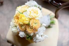 ranunculus and gardenia wedding bouquet