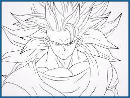 Imagenes De Goku Para Dibujar Faciles Con Color | imagenes de dragon ball z para dibujar a color archivos imagenes