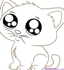 cat with kittens coloring page two kittens coloring page three