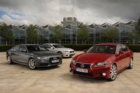 lexus es vs audi a6 lexus gs vs rivals group tests auto express