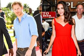prince harry arrives in the caribbean as girlfriend meghan markle