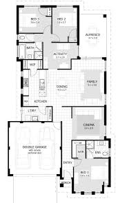 single story home floor plans apartments triple story house plans three story house plans
