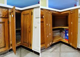 how to install hinges on corner cabinets cutting a few cabinet doors to fit house