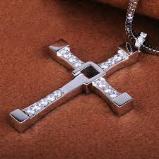 cross jesus necklace images Pay 1 get 3 silver cross jesus pendant necklace for men women jpg