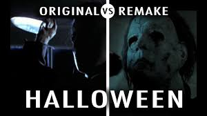 original vs remake halloween youtube