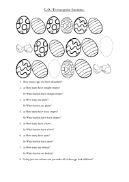 easter egg fractions by abigaildav teaching resources tes