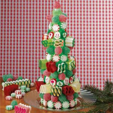 candy christmas tree recipe taste of home
