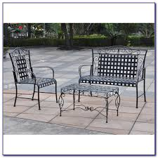wrought iron patio set costco patios home decorating ideas