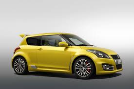 frankfurt preview new suzuki swift sport with 135hp