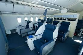 747 Dreamliner Interior Boeing 787 Dreamliner Review Lighter Cleaner Faster Greener