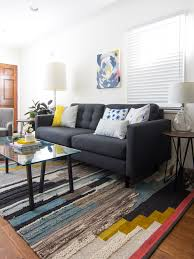 Living Room With No Coffee Table by Small And Narrow Living Room Sarah Hearts
