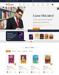 templates for bookshop 25 best book website templates 2018 freshdesignweb